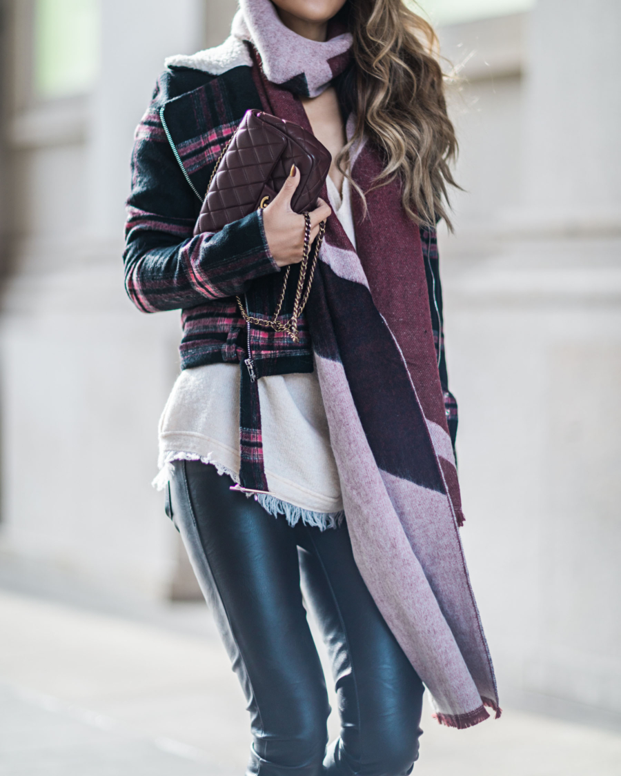 Oversized Scarf Winter Outfits // NotJessFashion.com