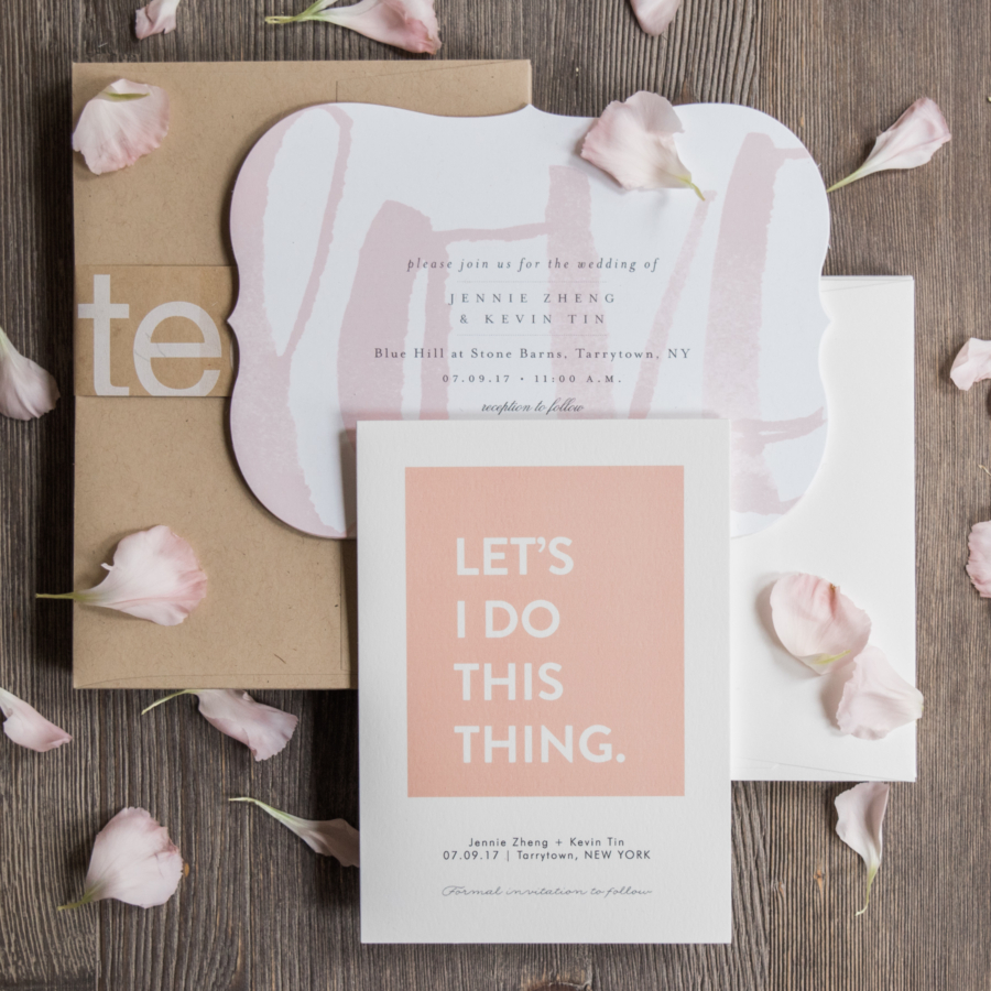Minted Wedding Invite Invitation // notjessfashion.com