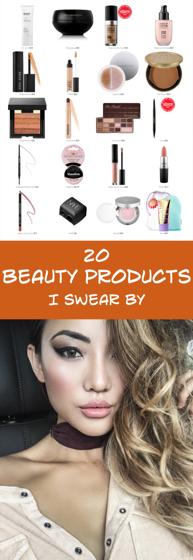 20 Beauty Products I Swear By // NotJessFashion.com