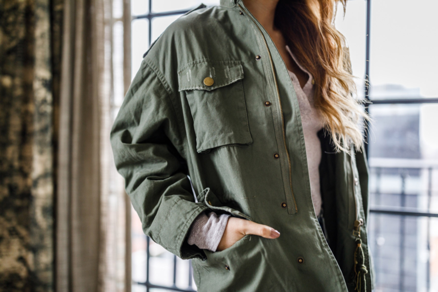 Dazzing Military Utility Jacket How to // NotJessFashion.com