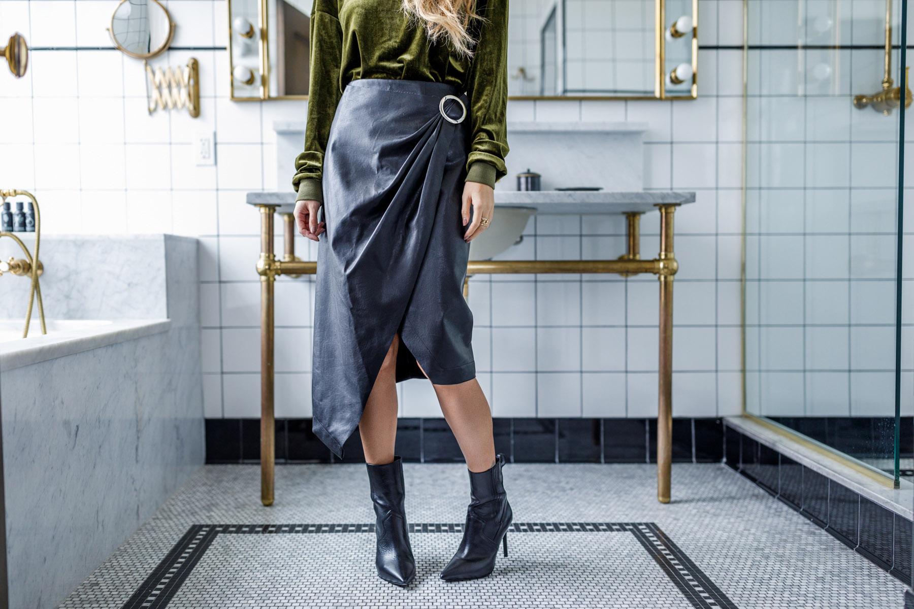 Dazzine Velvet Perfect Winter Fashion // NotJessFashion.com