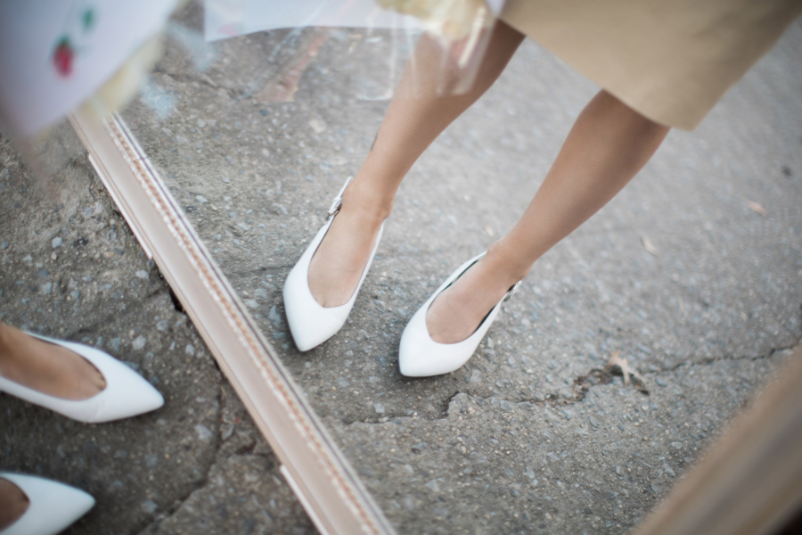 Pointed Toe Flats - Petite Girl Styling Dos and Don'ts // NotJessFashion.com