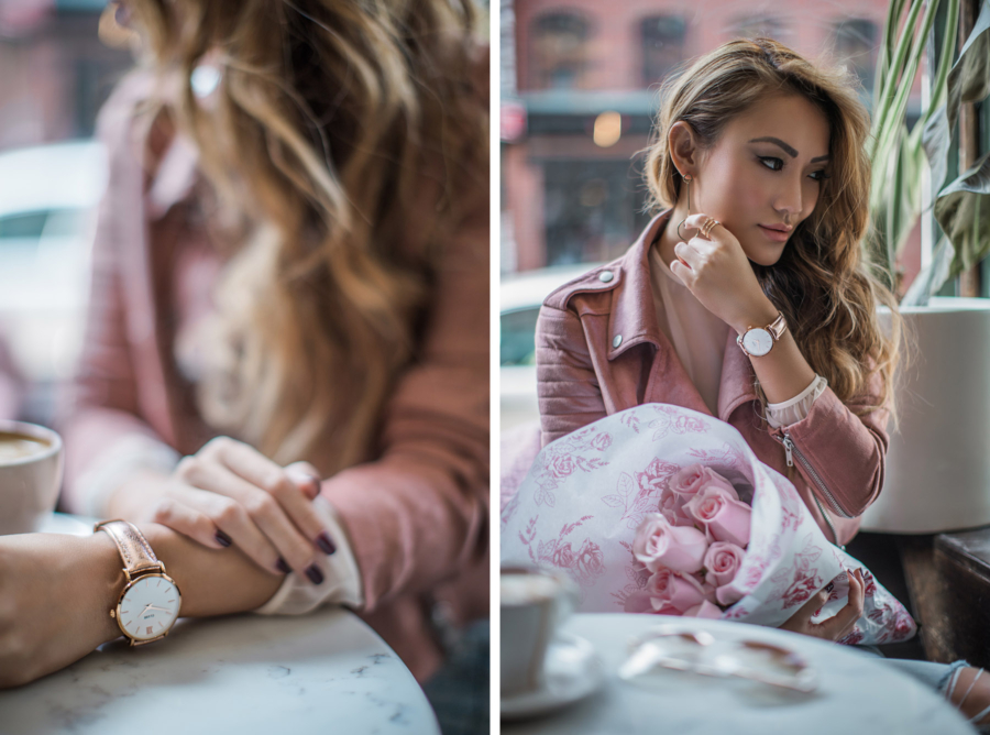 Cluse Minuit Model Rose Gold Watch // NotJessFashion.com