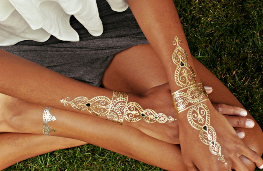 Body Tattoos - 6 Essential Accessories Every Cool Girl Needs for this Coachella // NotJessFashion.com