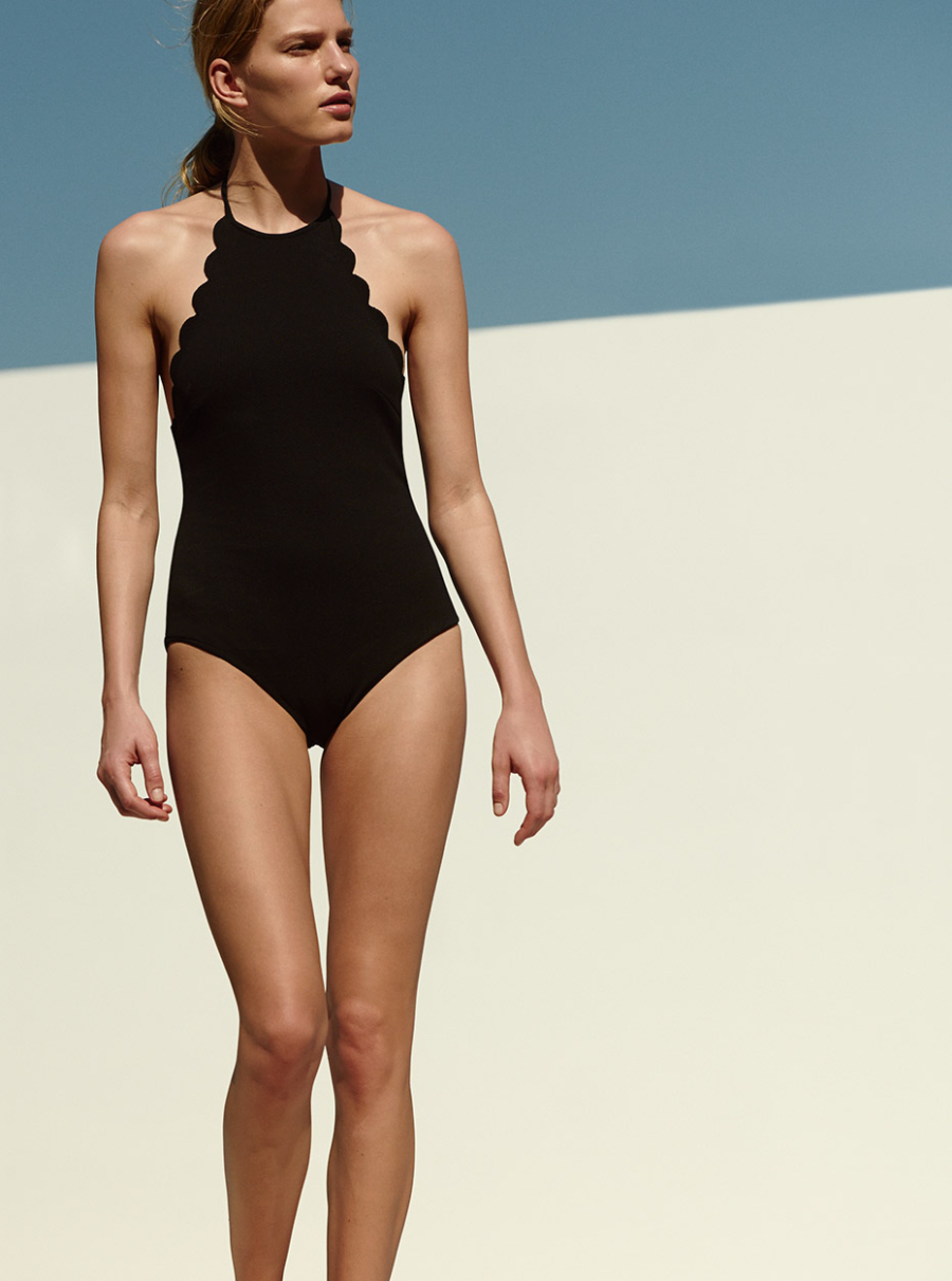 Halter Top Swimsuit - 9 Swimsuit Styles That Will Be Huge This Summer // NotJessFashion.com