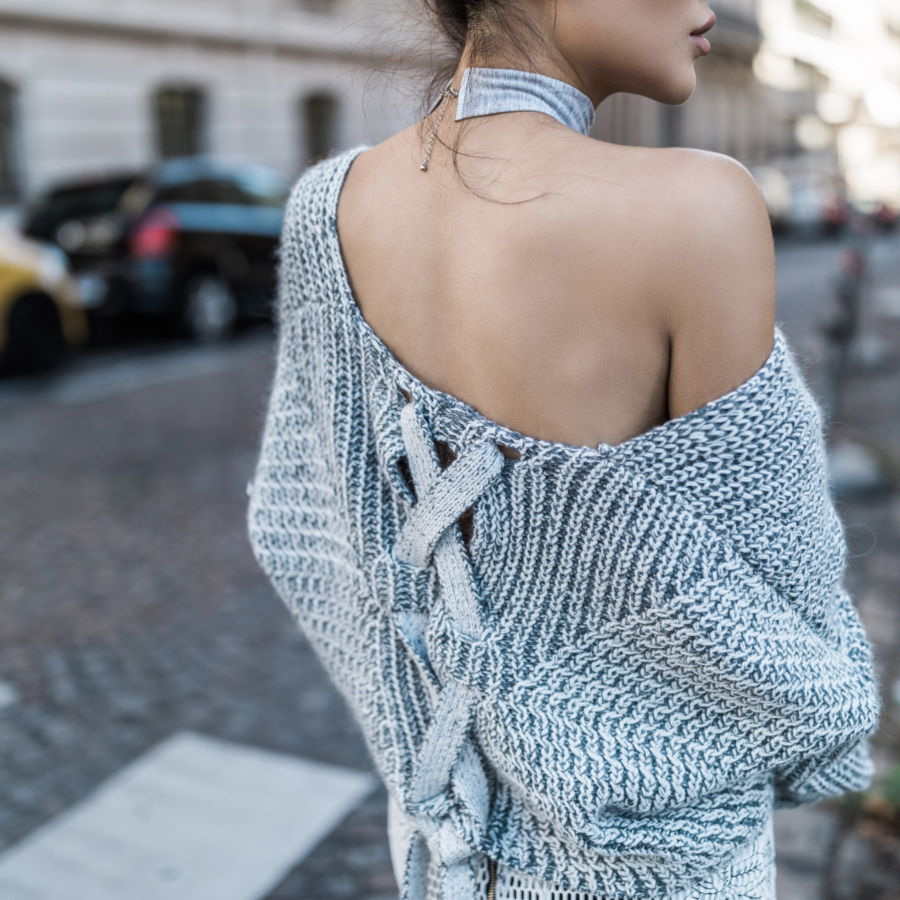 Crochet Slouchy Sweater // NotJessFashion.com