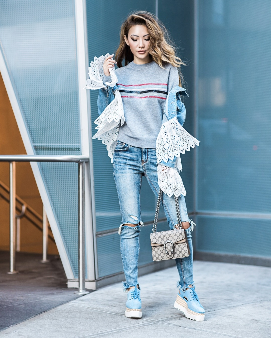 Denim - 9 Looks that Seamlessly Transition from Winter to Spring // NotJessFashion.com