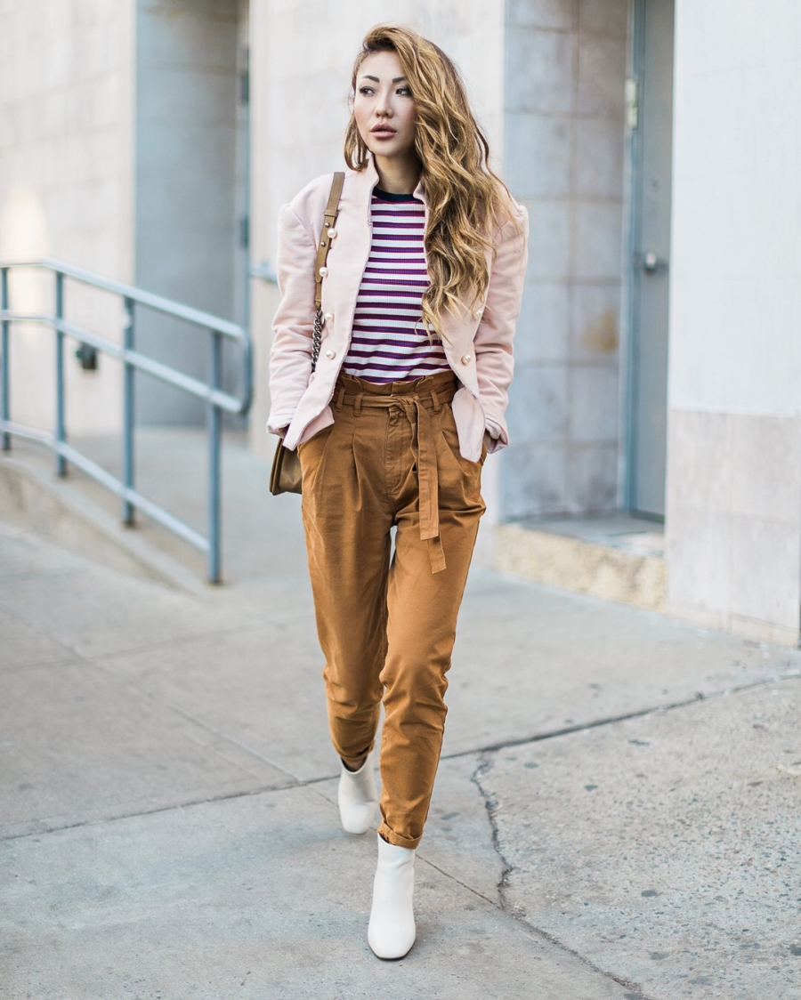 High waisted Pants - Petite Girl Styling Dos and Don'ts // NotJessFashion.com