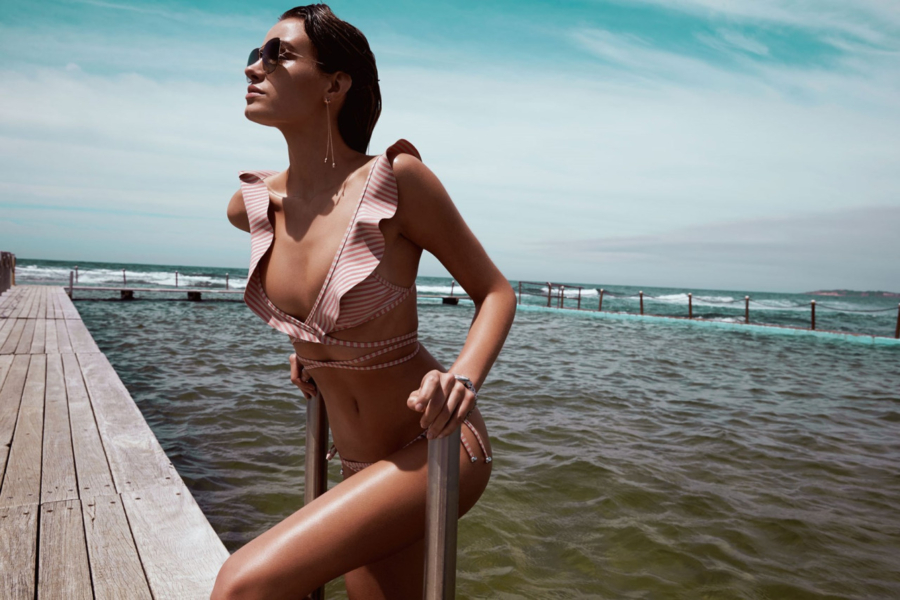 Ruffle Swimsuit - 9 Swimsuit Styles That Will Be Huge This Summer // NotJessFashion.com