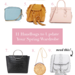11 Spring Handbags To Update Your Wardrobe