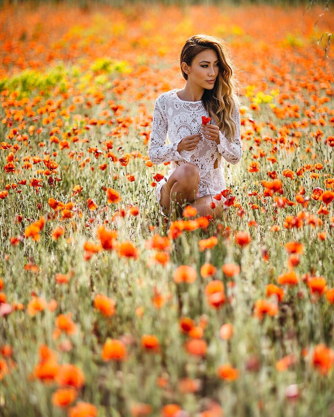 best flower fields of instagram, Antelope Valley California Poppy Reserve // Notjessfashion.com
