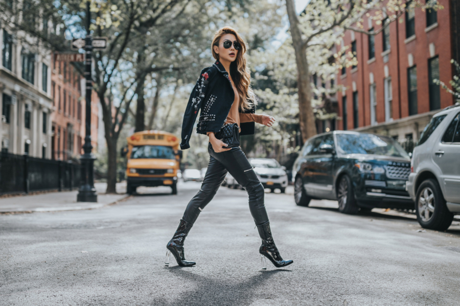 Studded Leather Jackets - 9 Leather Jacket Styles You'll Be Seeing All Spring // Notjessfashion.com