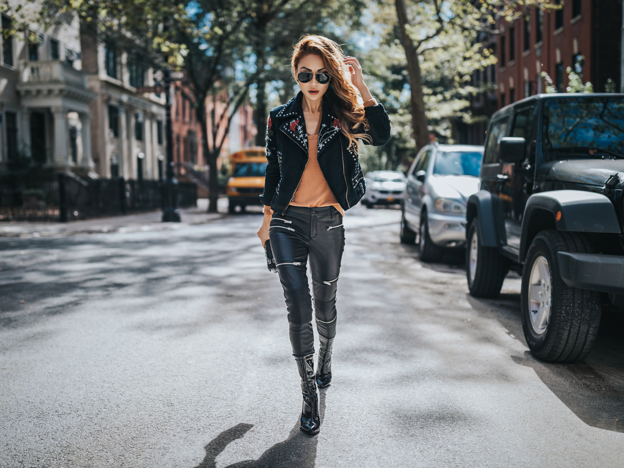 9 Leather Jacket Styles You'll Be Seeing All Spring // NotJessFashion.com