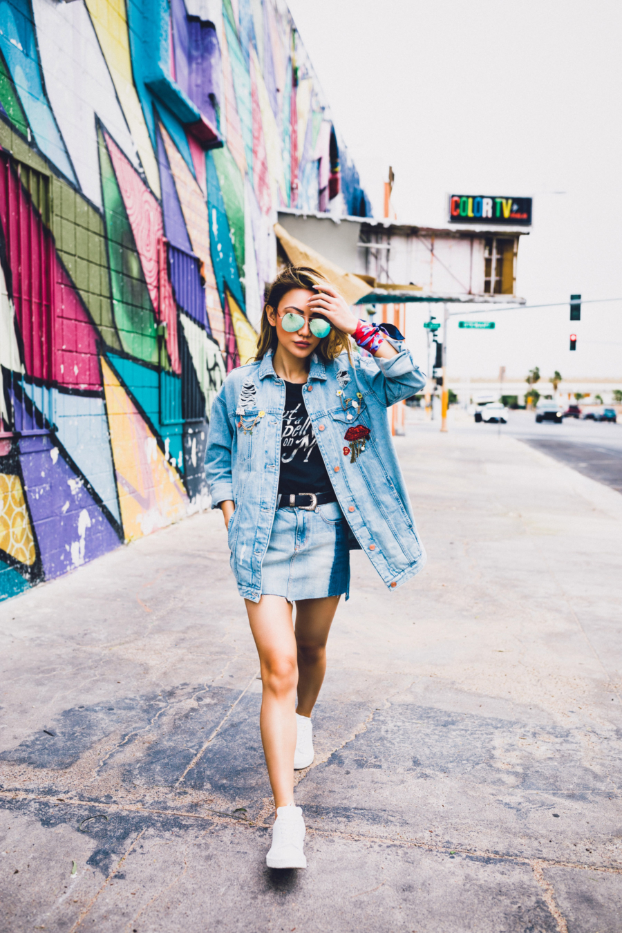 Denim on Denim Express - Fashion Faux Pas is Making a Huge Comeback // Notjessfashion.com