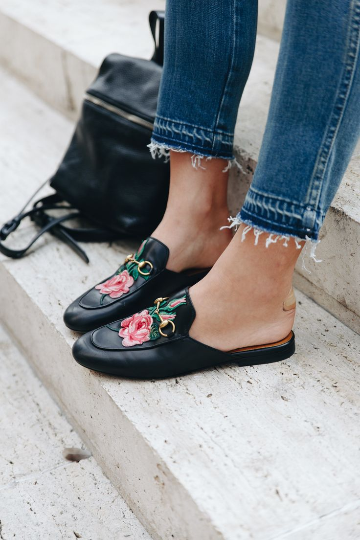 Floral Embroidered Shoes - 7 Pieces That Look Adorable With Flower Embroidery // Notjessfashion.com