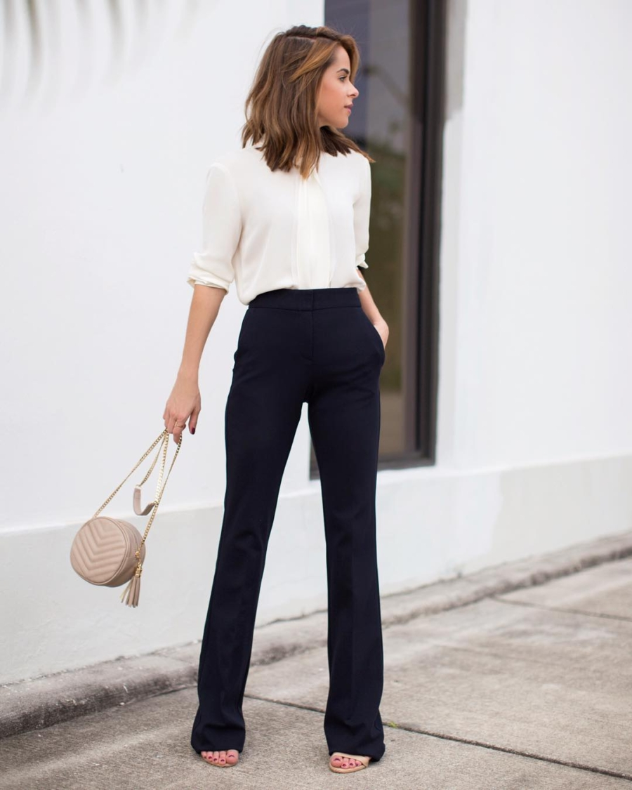 High Waisted Pants - 7 Pieces to Spice Up Your Work Outfit // Notjessfashion.com