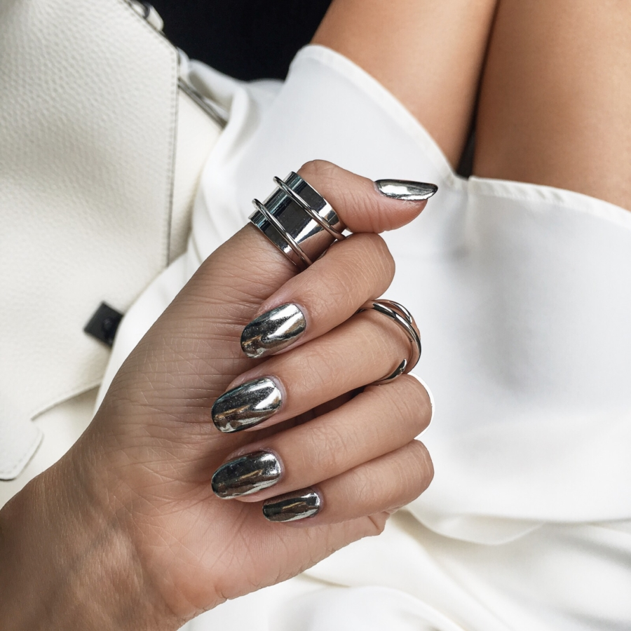 Chrome Nails - - 5 Fashion Forward Nail Trends For Spring You Need To Try // Notjessfashion.com