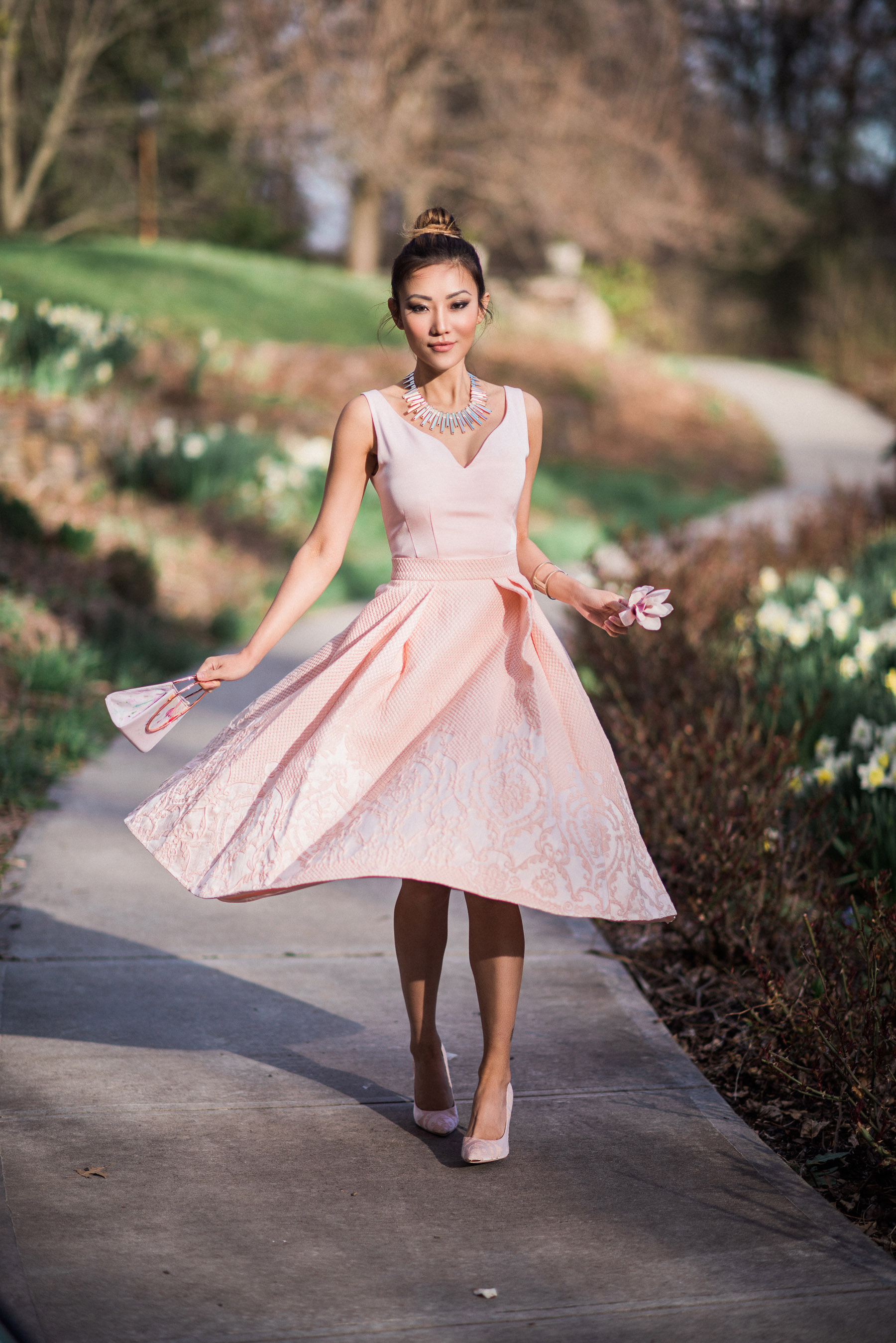 dd1e2ae2769 Dresses to Get You Through Easter - pastel pink dress for easter     NotJessFashion.