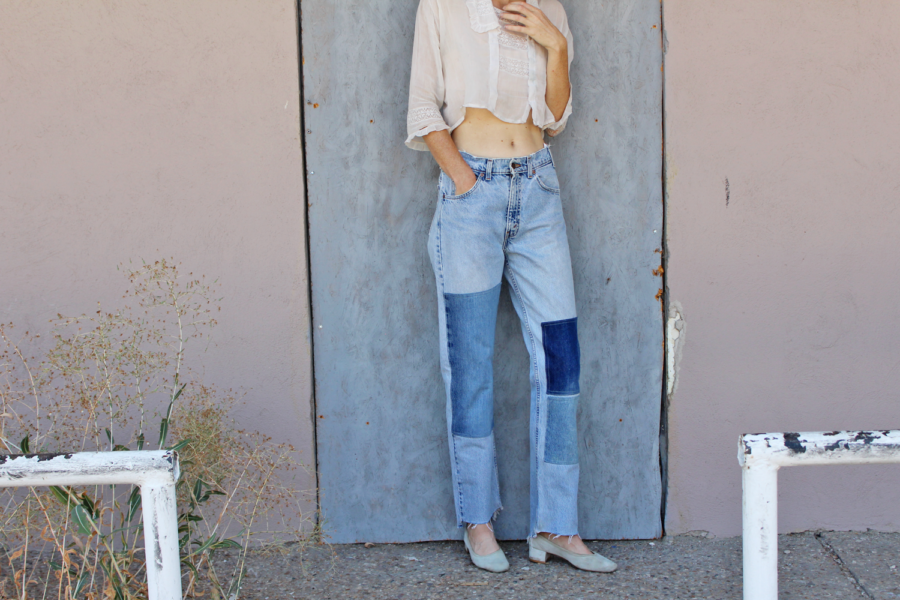 Patchwork Denim - - 8 Denim Styles That Will Be Trending For Spring // Notjessfashion.com