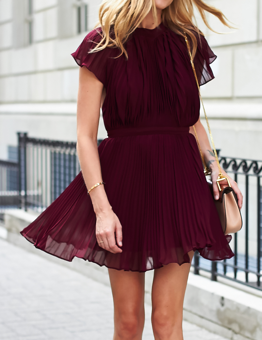 Pleated dress - 7 Types of Easter Sunday Dresses Under $100 // Notjessfashion.com