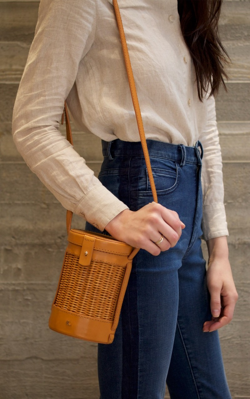 Straw Crossbody Bag -  It Crossbody Bags for Spring, All under $250 // Notjessfashion.com