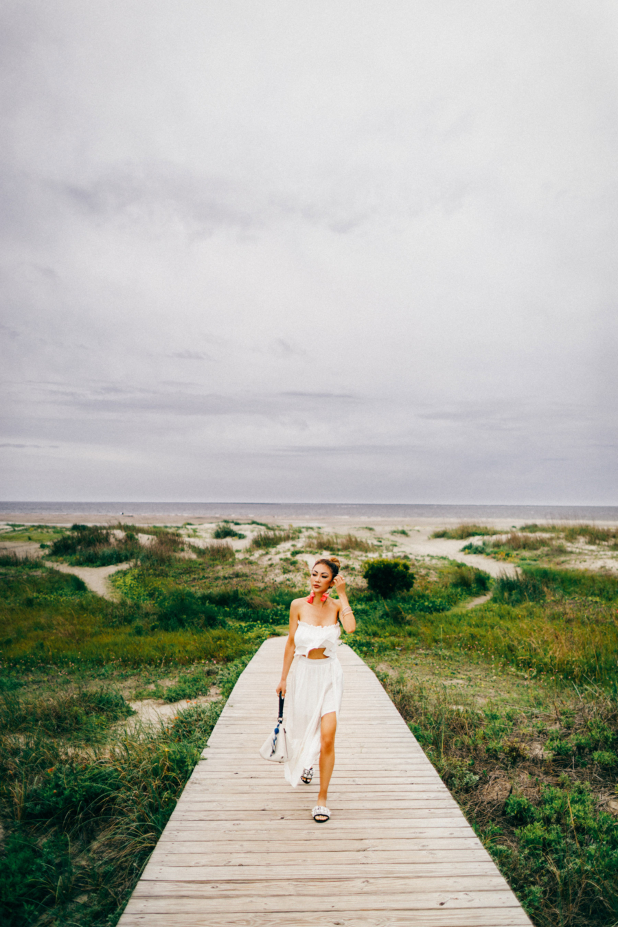 Sullivan's Island Stroll - Travel Guide: 36 hours in Charleston, SC // NotJessFashion.com