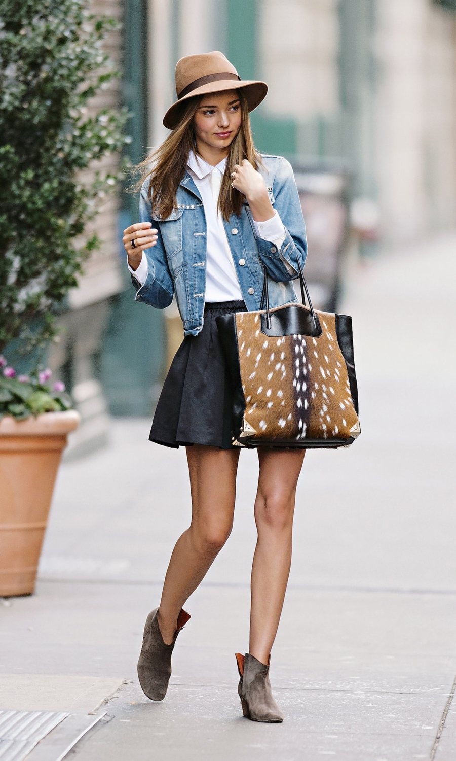 Denim Jackets and Ankle Booties - Ultra Chic On-The-Go Styles For Every Girl // NotJessFashion.com
