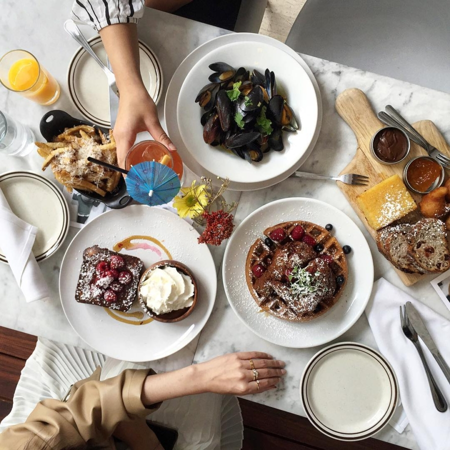 Loosie Rouge Brunch - 13 Instagram Worthy Brunch Spots in New York // Notjessfashion.com