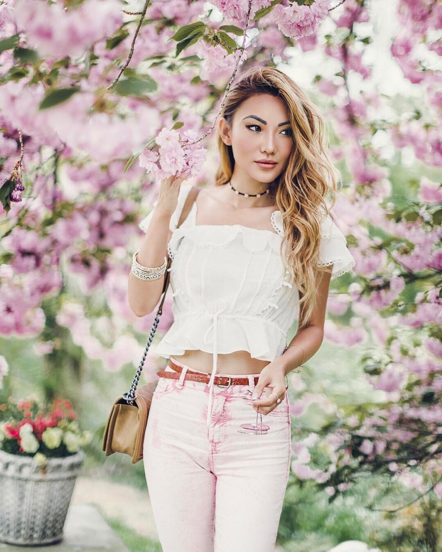 Blossoming in Pink - Instagram Outfits Round Up: Spring to Summer // NotJessFashion.com