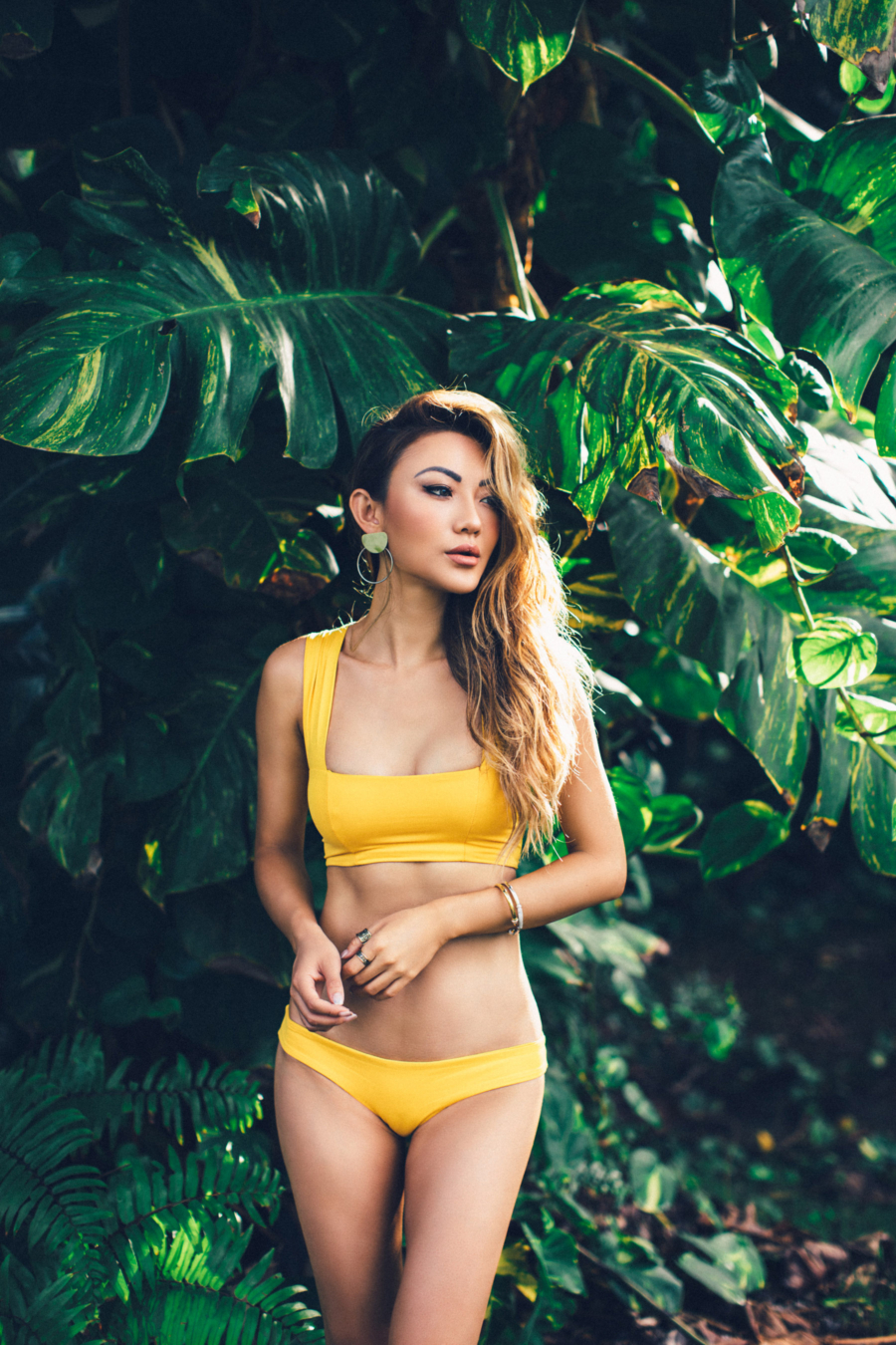 Yellow Bikini Puerto Rico - Discover Puerto Rico's Best Kept Secret // NotJessFashion.com