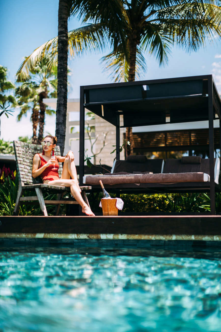 Poolside Hanging - Discover Puerto Rico's Best Kept Secret // NotJessFashion.com