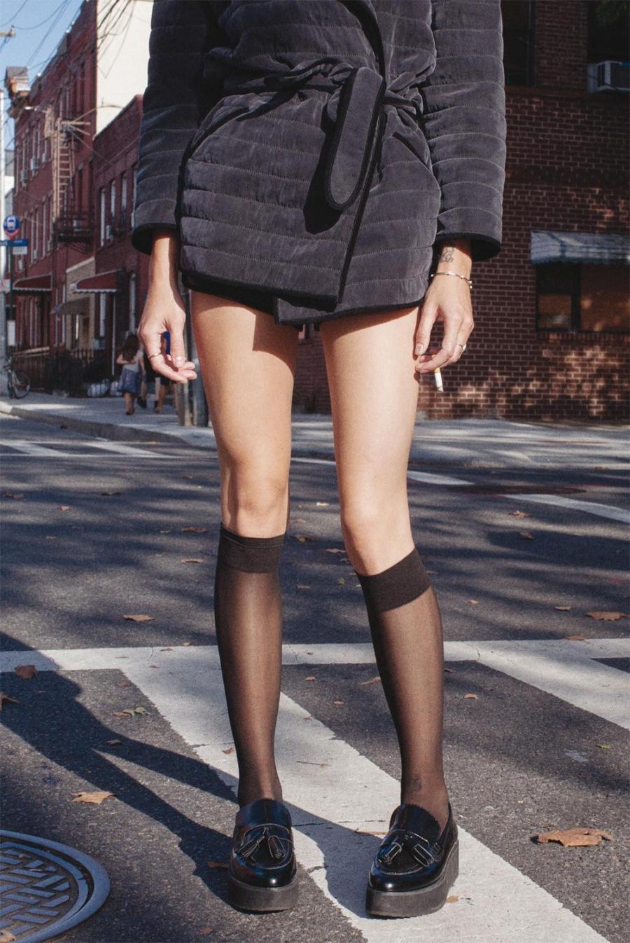 Sheer Socks - Tackling Sheer Style Trends For Spring and Summer // Notjessfashion.com