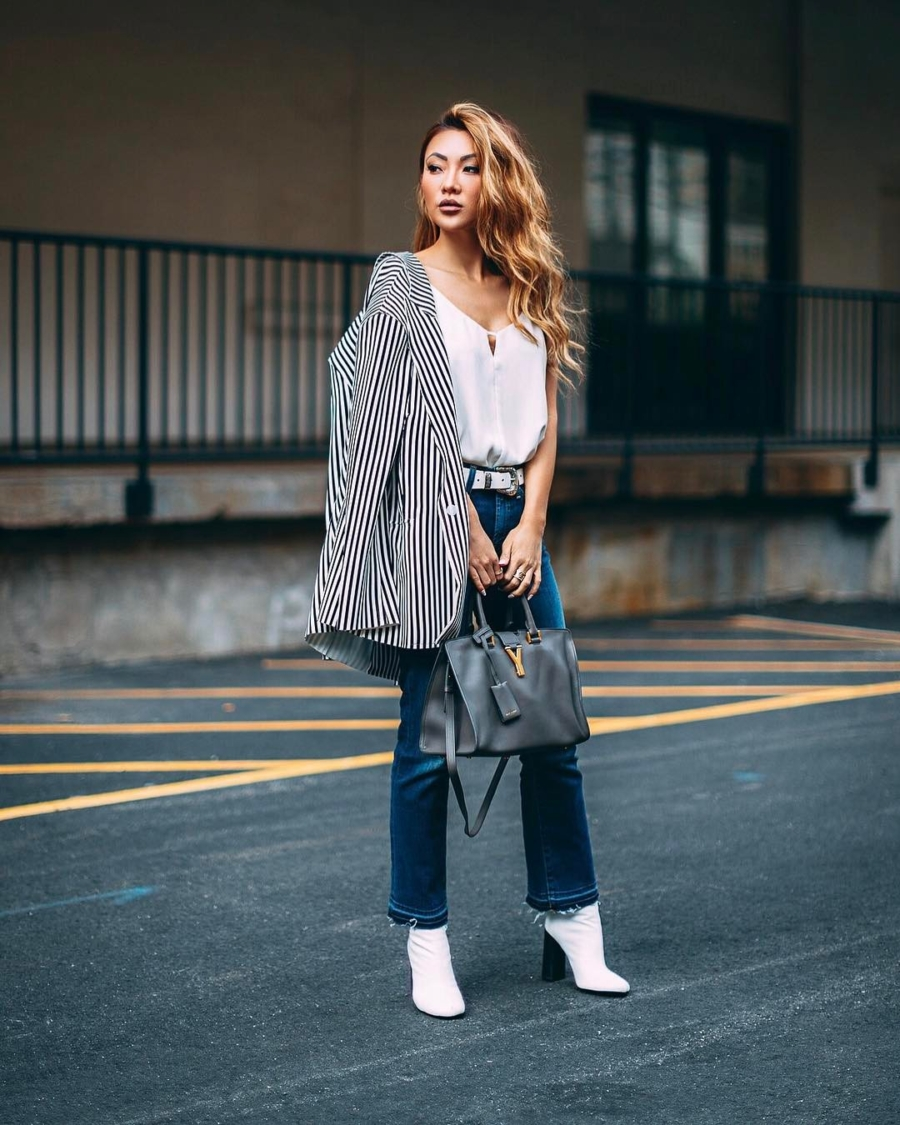 Vertical Stripes - Petite Girl Styling Dos and Don'ts // NotJessFashion.com