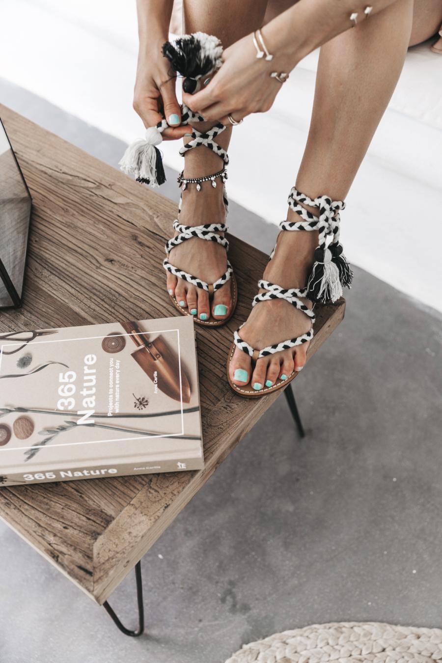 Wrap Sandals - 10 Key Spring and Summer Wardrobe Essentials // NotJessFashion.com