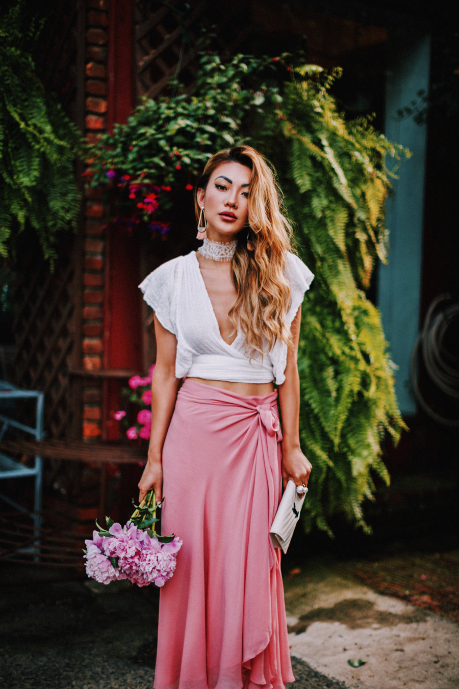 The best crop tops for summer - flutter sleeve crop top // NotJessFashion.com