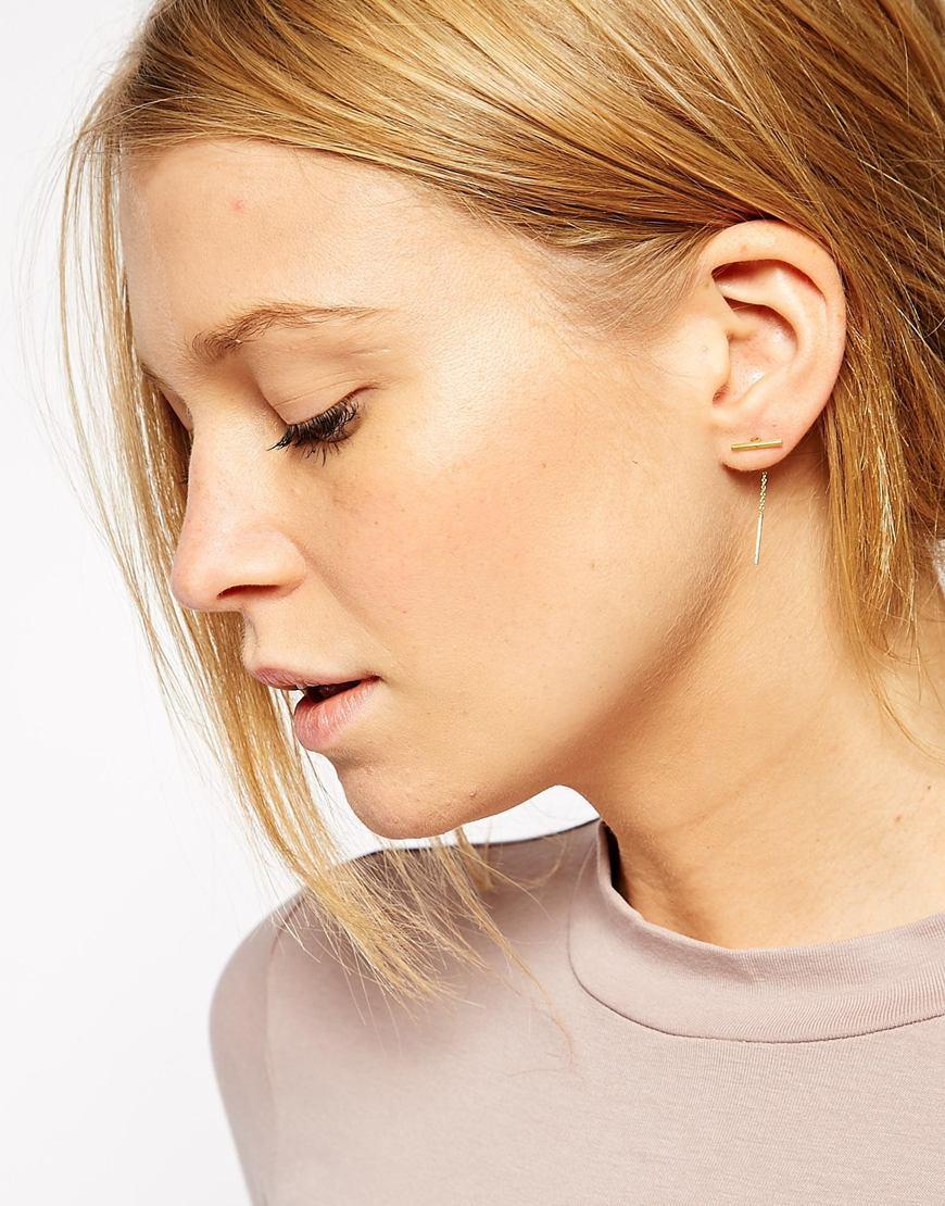 Bar Earrings - 7 Fashionable Earrings You Never Knew You Needed // NotJessFashion.com