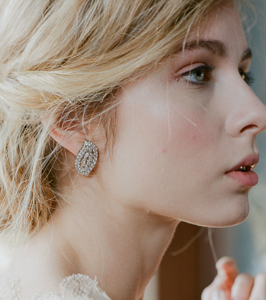 Cluster Earrings - 7 Fashionable Earrings You Never Knew You Needed // NotJessFashion.com