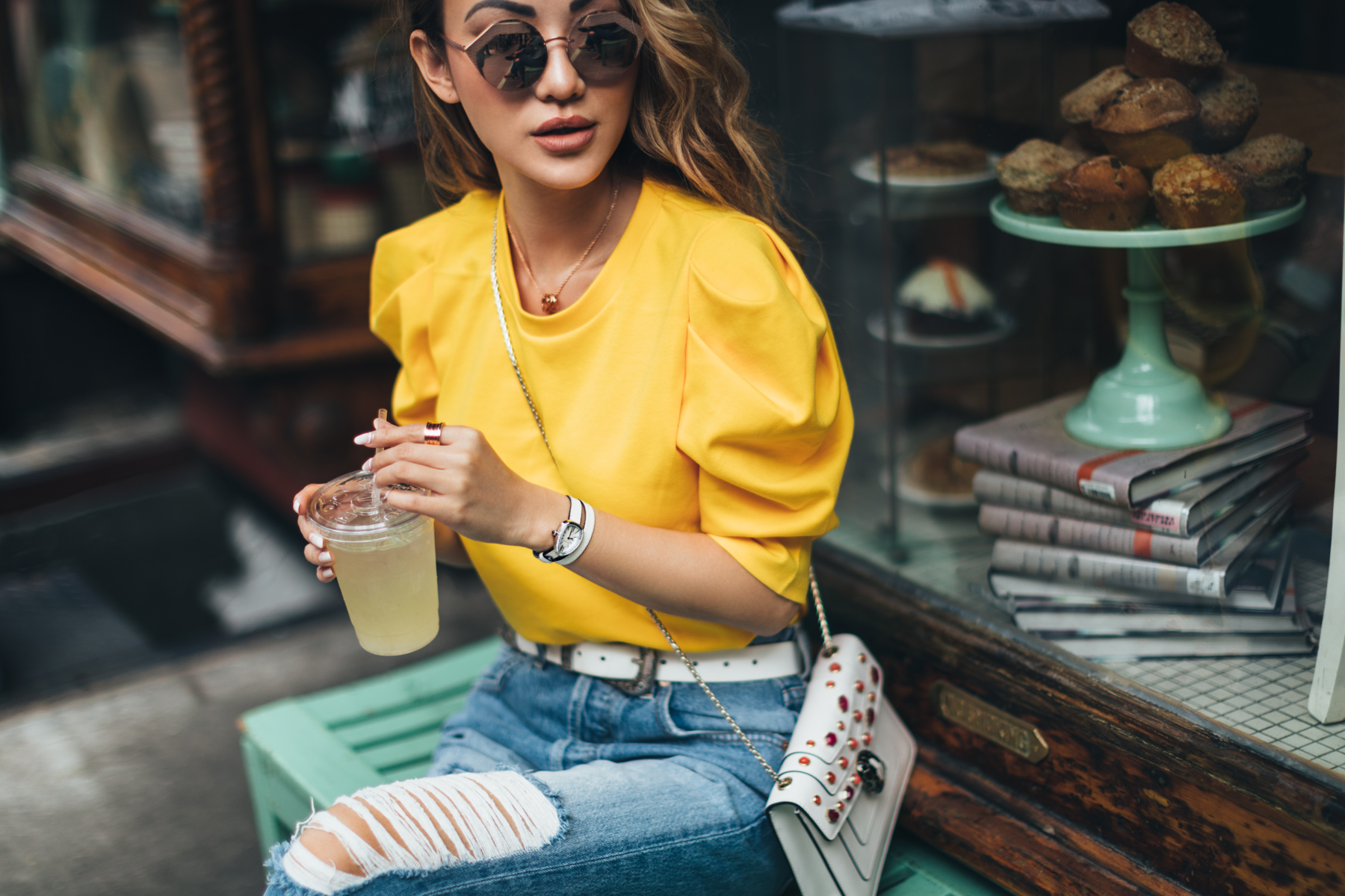 ways to wear yellow for fall // Notjessfashion.com