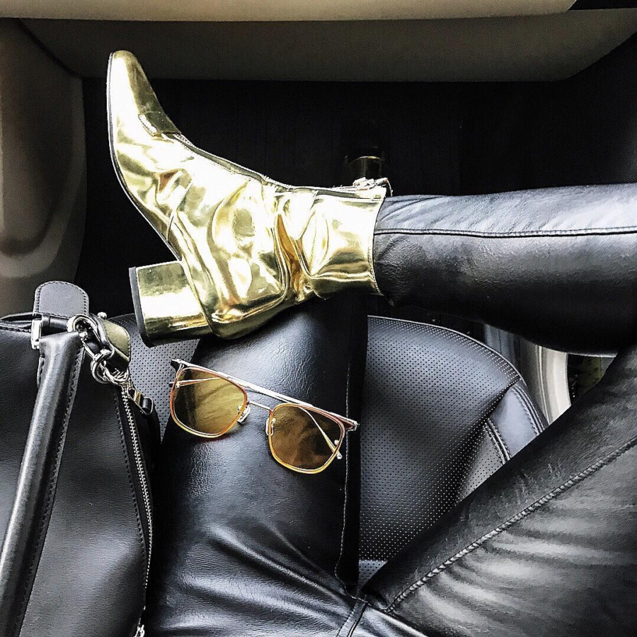 Metallic Ankle Boots - 6 Ankle Boots You Can Still Rock All Summer // NotJessFashion.com