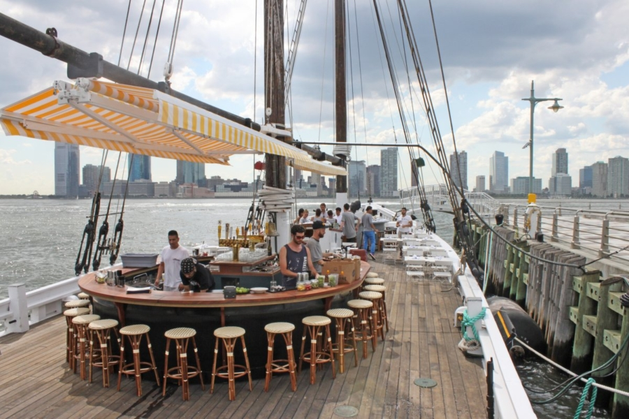Oysters at Grand Banks - 10 Things You Must Do In New York This Summer // NotJessFashion.com