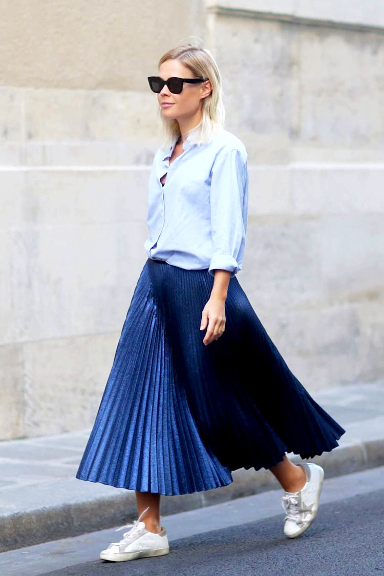 Pleated Midi Skirt - 5 Pleated Pieces that Compliment Your Wardrobe // NotJessFashion.com