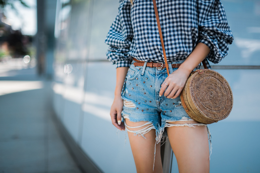 Casual summer gingham - 5 Updated Gingham Trends You'll Love For Summer // NotJessFashion.com