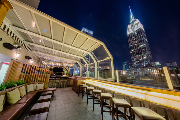 Top of Strand - 9 Best Rooftop Bars in New York and What To Wear // NotJessFashion.com