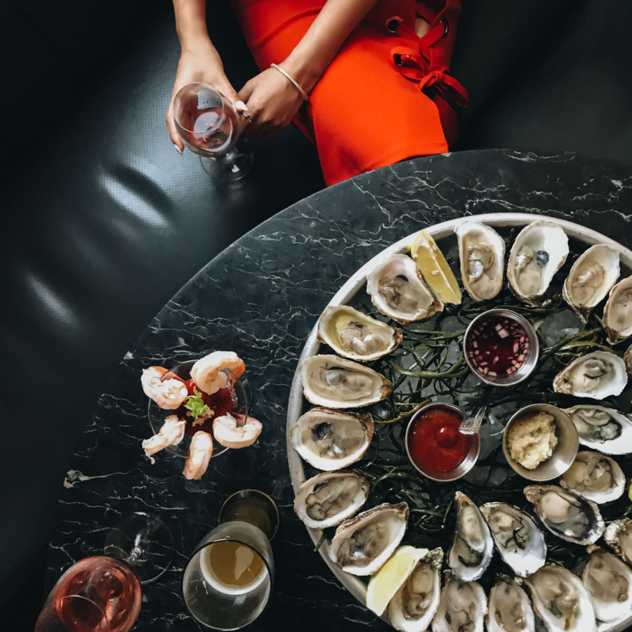 Oysters at Sel Rrose - In My Uber, On My Way // NotJessFashion.com