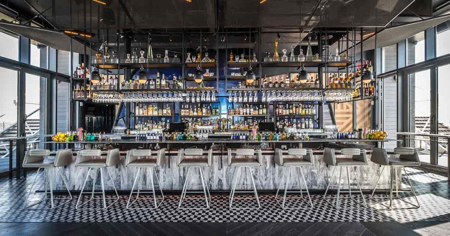 Westlight - 9 Best Rooftop Bars in New York and What To Wear // NotJessFashion.com