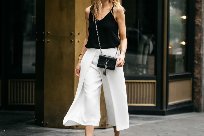Cami and Culottes - Summer Work Outfits That Won't Make You Break A Sweat // NotJessFashion.com