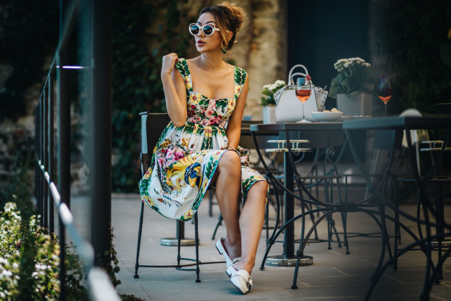 Dolce and Gabbana Floral Dress - Floral Dresses for Your Summer Vacations // NotJessFashion.com