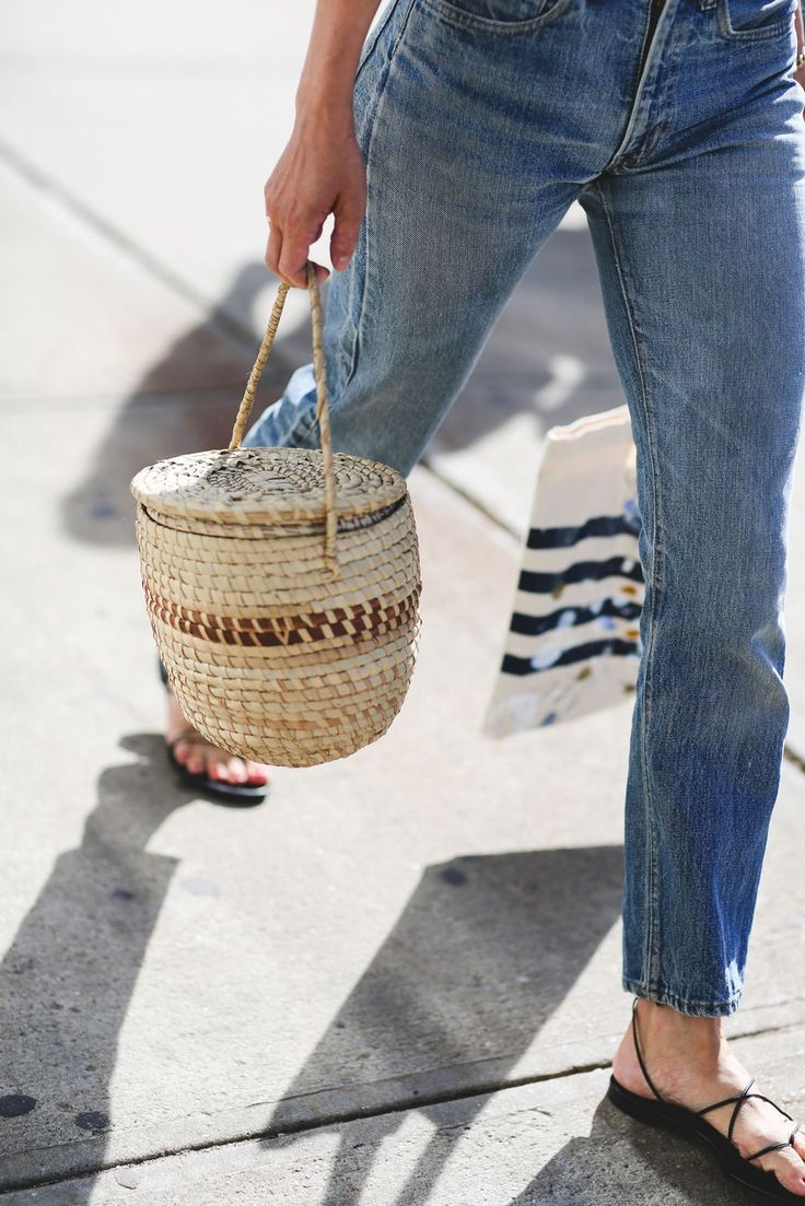 Wicker Basket Bag - Cute Basket Bags that will Whisk You Away // NotJessFashion.com