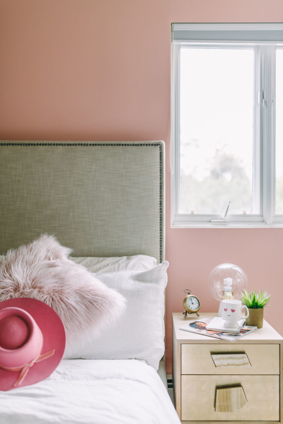 Behr Positively Pink Paint Color // NotJessFashion.com