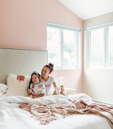 POSITIVELY PINK IS A PAINT COLOR TO REFRESH YOUR LIVING SPACE